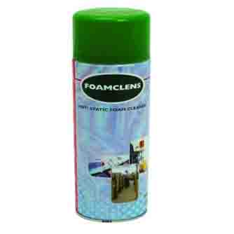 Aerosol Solutions - 0300 - Foamclens 500ml Foam Cleaner Aerosol