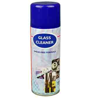 Aerosol Solutions - 0306 - Glass Cleaner 400ml Smear Free Formula Aerosol