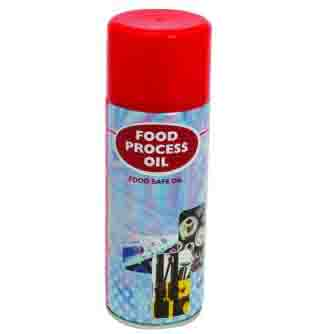 Aerosol Solutions - 0411 - Food Process Oil 400ml Food Safe Oil Aerosol