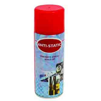 Aerosol Solutions - 0501 - Anti Static Spray 400ml Anti Static Spray Aerosol