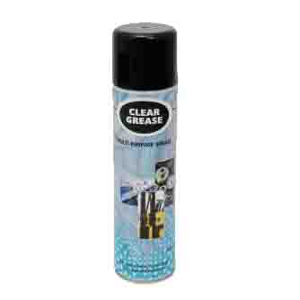 Aerosol Solutions - 0508 - Clear Grease 500ml Clear Grease Aerosol