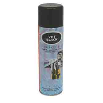 Aerosol Solutions - 0838 - VHT Black 500mlBlack Very High Temperature Paint Aerosol