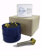 M.A. Ford HSS TiN Coated 90º Countersink 6pce Kit