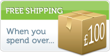 Free Shipping - When you spend over £50